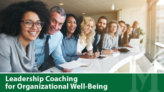Leadership Coaching for Organizational Well-Being