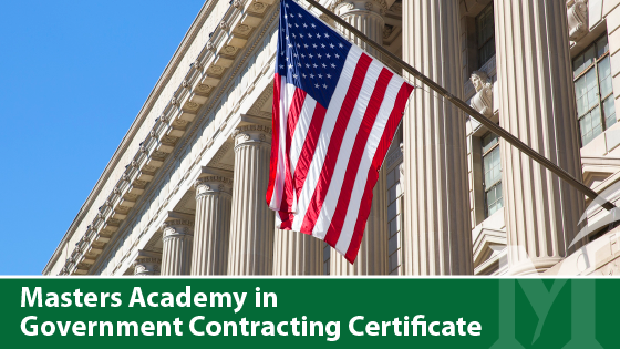 Masters Academy in Government Contracting Certificate