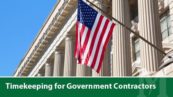 Timekeeping for Government Contractors